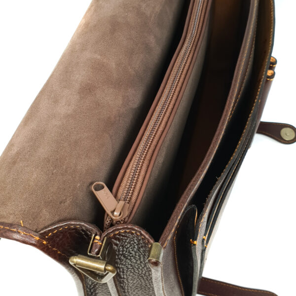Messenger Bag in Cuoio