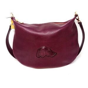 leather hobo bag (dog)