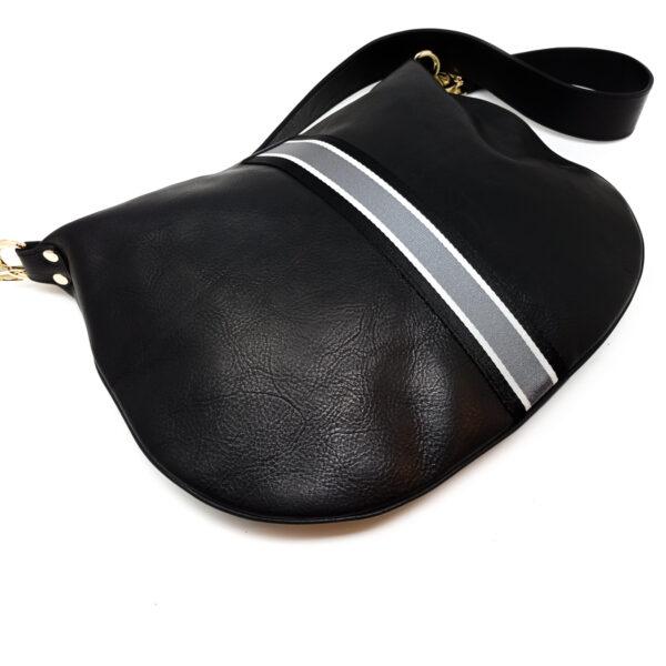 LEATHER HOBO BAG (FASCIA)