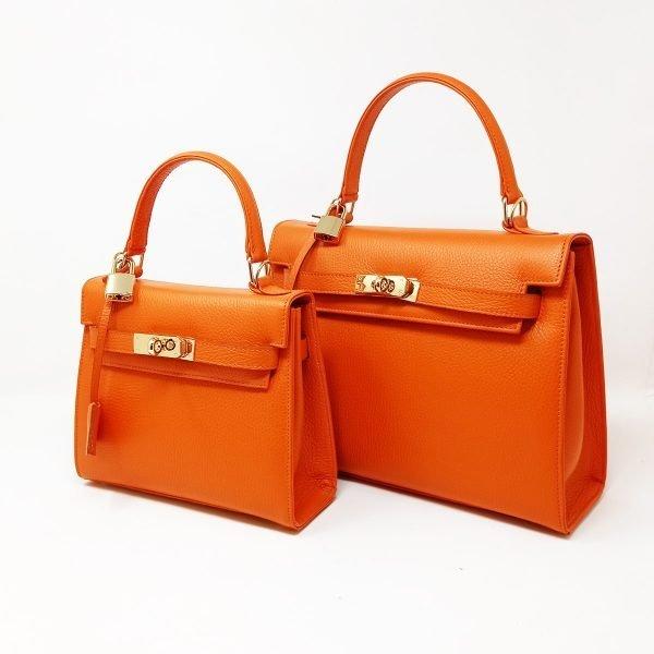 kelly bag orange