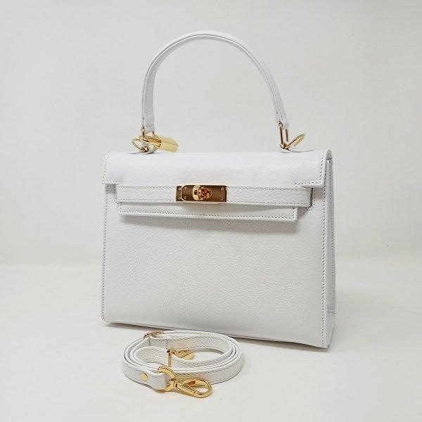 kelly bag bianca